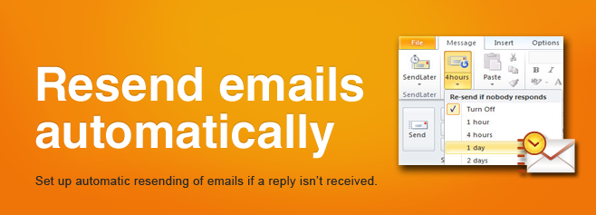 Resend emails automatically.